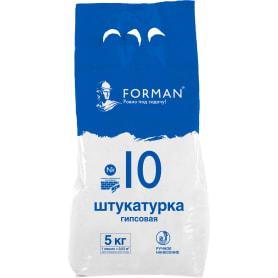 Штукатурка гипсовая Forman 10, 5 кг