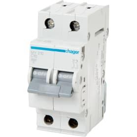 Выключатель автоматический Hager 2 полюса 10 A