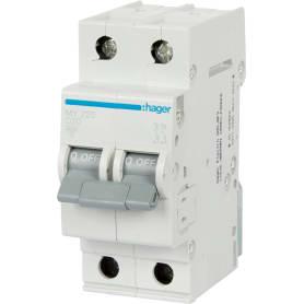 Выключатель автоматический Hager 2 полюса 20 A