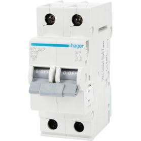 Выключатель автоматический Hager 2 полюса 32 A