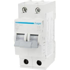 Выключатель автоматический Hager 2 полюса 40 A