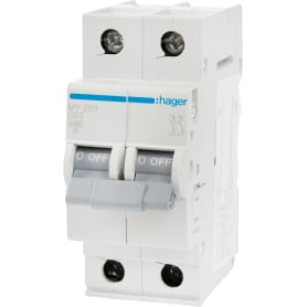 Выключатель автоматический Hager 2 полюса 63 A