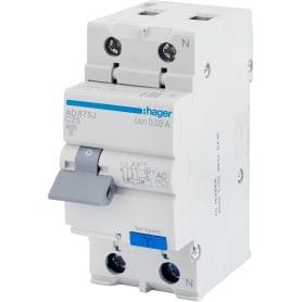 Автомат дифференциальный Hager 1 полюс 25 мА