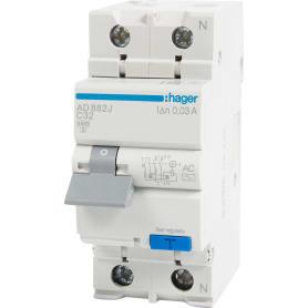 Автомат дифференциальный Hager 1 полюс 32 А