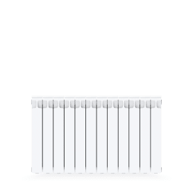 Радиатор Rifar Monolit 500, 12 cекций, боковое подключение, 500 мм,биметалл