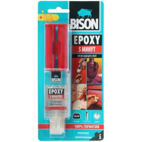 Клей эпоксидный Bison Epoxy 5 Min, 24 мл