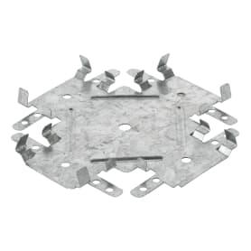 Соединитель потолочных профилей 60х27 мм одноуровневый (краб)