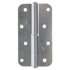 Петля левая У1-9579 130x70x3 мм сталь без покрытия