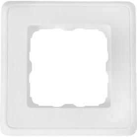 Рамка для розеток и выключателей Legrand Cariva 1 пост, цвет белый