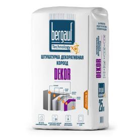 Штукатурка цементная декоративная Bergauf Dekor короед 2.5-3.0 25 кг