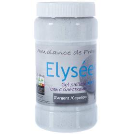Гель с блёстками Elysees d'Argent 1 л цвет серебро