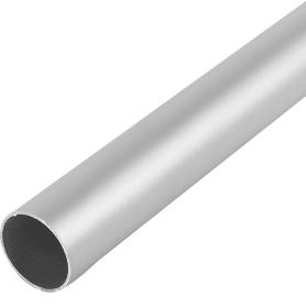 Труба 25х1х1000 мм, алюминий, цвет серебро