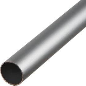Труба 25х1х2000 мм, алюминий, цвет серебро
