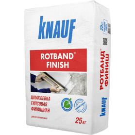 Шпаклёвка гипсовая финишная Knauf Ротбанд Финиш 25 кг
