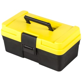 Ящик для инструмента Systec 151х125х285 мм, пластик, цвет чёрно-жёлтый