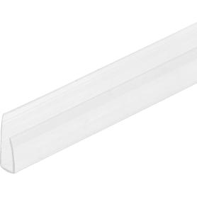Заглушка торцевая 6 мм x 2.1 м, цвет прозрачный
