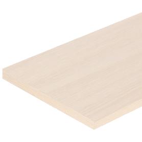 Деталь мебельная без кромки 2700х1200х16 мм ЛДСП, цвет дуб беленый, без кромки