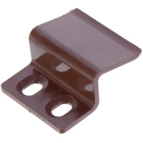 Крепление для москитной сетки пластик цвет коричневый, 4 шт.