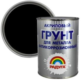 Грунт по металлу Радуга ВД АК Р-150 0.9 л цвет чёрный