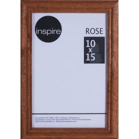 Рамка Inspire Rose 10х15 см дерево цвет коричневый