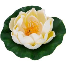 Украшение «Лилия» 100 мм, цвет белый/жёлтый/розовый