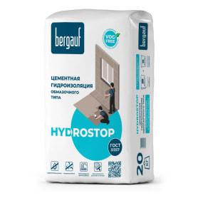 Гидроизоляция обмазочная Bergauf Hydrostop, 20 кг