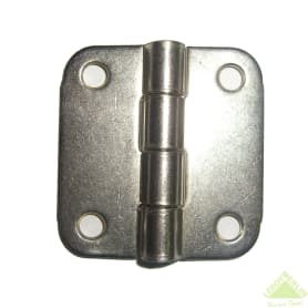 Петля накладная форточная Likchel ПН5-40, никелированная, 2 шт.