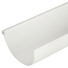 Желоб водосточный 130x2000 мм цвет белый