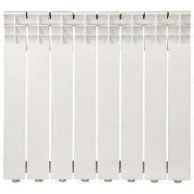 Радиатор Monlan 500/80, 8 секций, алюминий