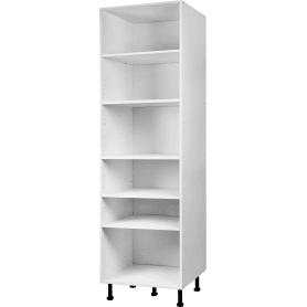 Колонка напольная 60x200x56 см, ЛДСП, цвет белый