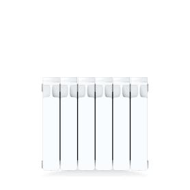 Радиатор Rifar Monolit, 6 секций, боковое подключение, 350 мм, биметалл