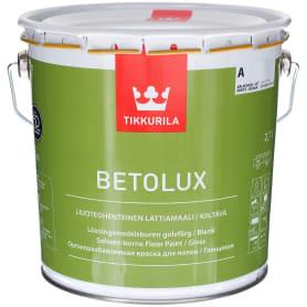 Эмаль для пола Tikkurila Betolux цвет белый 2.7 л, база A
