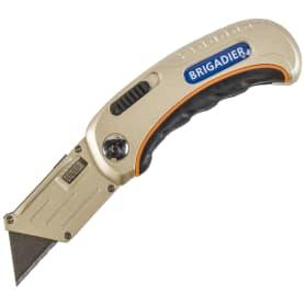 Нож трапециевидное фиксированное лезвие Brigadier Extrema