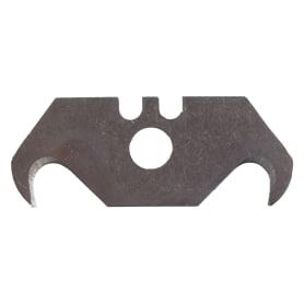 Лезвия для ножа трапециевидные Brigadier крючкообразные, 5 шт.