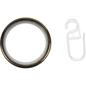 Кольцо 3.3 см цвет золото антик