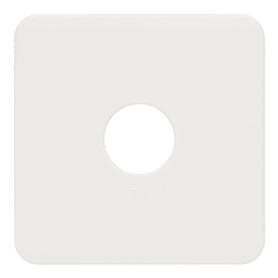 Накладка Lexman Cosy для ТВ розетки, цвет белый