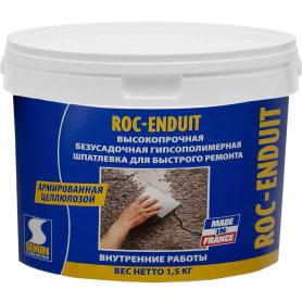 Шпаклёвка для заделки и ремонта Semin Roc-Enduit, 1.5 кг