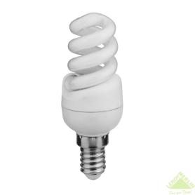 Лампа энергосберегающая Lexman спираль E14 7 Вт свет холодный белый