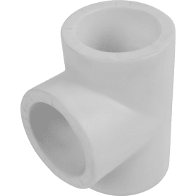 Тройник ⌀40 x 40 x 40 мм полипропилен