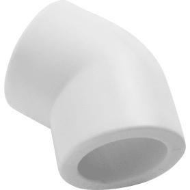 Угол 45° ⌀25 мм полипропилен