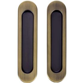 Ручка для раздвижных дверей с механизмом SH010-BK WAB-11, цвет матовая бронза