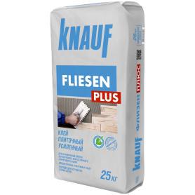 Клей для плитки усиленный Knauf Флизен Плюс, 25 кг
