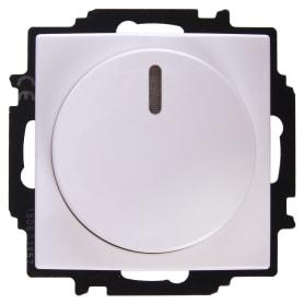 Диммер встраиваемый ABB Basic 55 60-400 Вт цвет белый