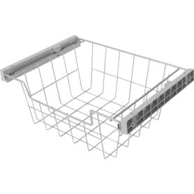 Корзина для шкафа Spaceo 412-418x300x150 мм металл/пластик