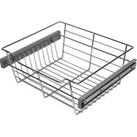Корзина для шкафа Spaceo 412-418x300x150 мм металл