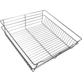 Корзина для шкафа шариковая Spaceo 562-568x500x150 мм металл