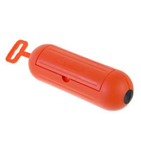 Коробка распределительная 210х200х65 мм цвет оранжевый