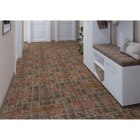 Керамогранит «Грес Рустик Бастион 4» 40х40 см 1.76 м2 цвет коричневый