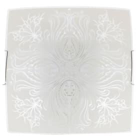Светильник настенно-потолочный Korda 2xE27x60 Вт, цвет белый/хром