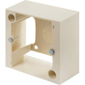 Коробка распределительная для плиты Legrand 85x85х40 мм цвет бежевый
